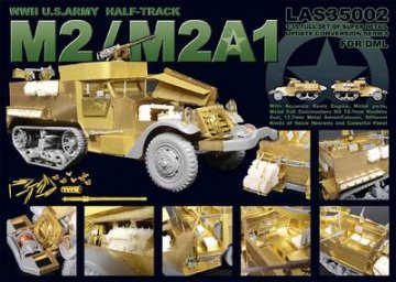 U.S.M2 & M2A1 Half-track for DML · LIO LAS35002 ·  Lion Roar · 1:35