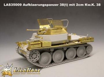 German Aufklaerungspanzer 38( t ) mit 2cm Kw.K. 38 for DML · LIO LAS35009 ·  Lion Roar · 1:35