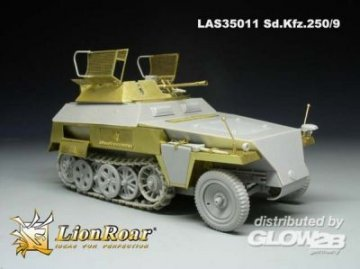 German Sd.Kfz.250/9 NEU for DML · LIO LAS35011 ·  Lion Roar · 1:35