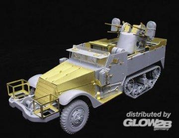 WWII U.S.Army M16 Anti-Aircraft MotorGun Carrier · LIO LAS35012 ·  Lion Roar · 1:35