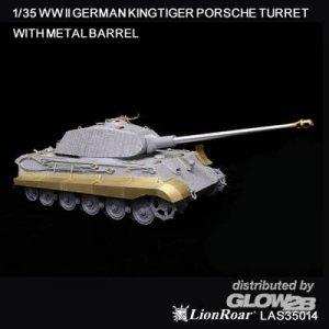 WWII German King Tiger (Porsche) for DML · LIO LAS35014 ·  Lion Roar · 1:35