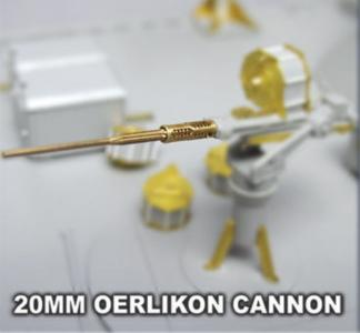 Oerlikon 20mm AA Gun (For PT Boat) · LIO LB3530 ·  Lion Roar · 1:35