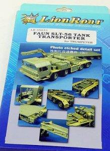 German Faun Elephant SLT-56 Panzer Transporter for Trumpeter · LIO LE35031 ·  Lion Roar · 1:35