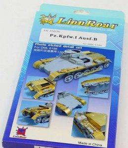 Panzer I Ausf.B for DML 6186 · LIO LE35036 ·  Lion Roar · 1:35
