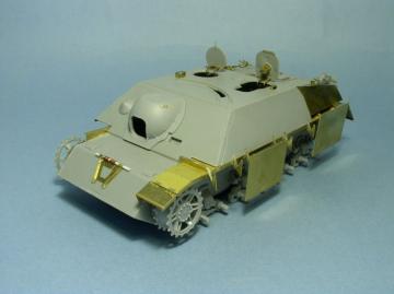 Skirt Armour for Jagdpanzer IV L/48,L/70 for DML · LIO LE35047 ·  Lion Roar · 1:35