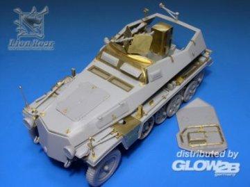 Sd.kfz 250/1 Detail-Up /w punch parts for DML · LIO LE35061 ·  Lion Roar · 1:35