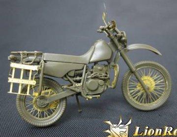 JGSDF Motorcycle · LIO LE35081 ·  Lion Roar · 1:35