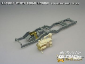 WWII U.S.Army White 160AX Engine For M2 Half-track · LIO LE35088 ·  Lion Roar · 1:35