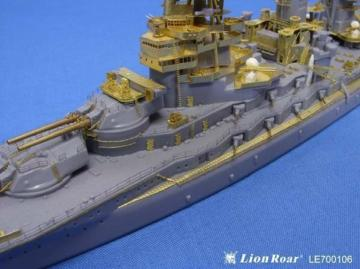 WWII IJN Battleship Nagato for Aoshima · LIO LE700106 ·  Lion Roar · 1:700