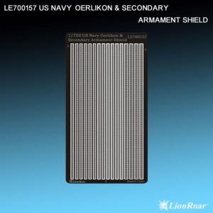 WWII US Navy Oerlikon&Secondary Armament · LIO LE700157 ·  Lion Roar · 1:700