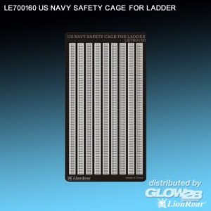 WWII US Navy Safety Cage for ladder · LIO LE700160 ·  Lion Roar · 1:700