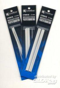 Plastic Beams 1.5 x 1.5mm Square 12 St. · LIO LT0015 ·  Lion Roar