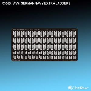 WWII German Navy Extra Ladders · LIO R3516 ·  Lion Roar · 1:350