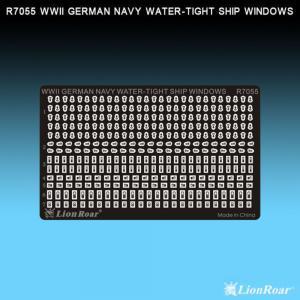 WWII German Navy Water-tight ship wind. · LIO R7055 ·  Lion Roar · 1:700