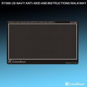 WWII US Navy Antiskid Plate II · LIO R7066 ·  Lion Roar · 1:700