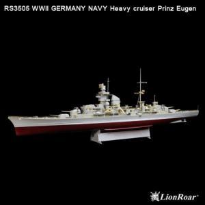 WWII Ger.Navy Heavy Crui. Pr.Eugen (TRU) · LIO RS3505 ·  Lion Roar · 1:350