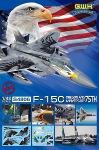 USAF F-15C OREGON ANG 75th Annversary - Limited Edition · LIO S4806 ·  Lion Roar · 1:48