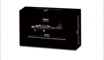 NORTHORP P-61A w/Ground Attack weapons & Droptanks · LIO S4807 ·  Lion Roar · 1:48