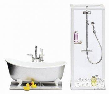 Smaland: Dusche und Bad · LUN 60205300 ·  Lundby · 1:18