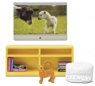 Smaland: Fernseher · LUN 60205500 ·  Lundby · 1:18