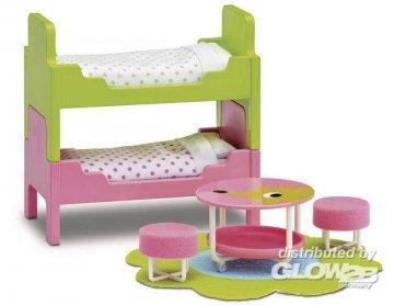 Smaland: Kinderzimmer · LUN 60206600 ·  Lundby · 1:18