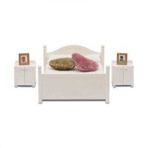 Smaland: Schlafzimmer in weiß · LUN 60206800 ·  Lundby