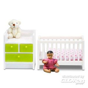 Lundby: Babybett und Wickeltisch · LUN 60208500 ·  Lundby