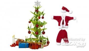 Smaland: Weihnachtsbaum-Set mit Licht · LUN 60603400 ·  Lundby · 1:18