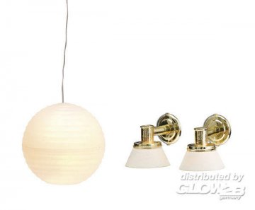 Smaland: Lampenset 3 · LUN 60603700 ·  Lundby · 1:18