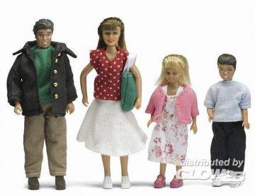 Smaland: Puppenfamilie · LUN 60804400 ·  Lundby · 1:18