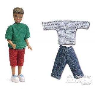 Smaland: Junge und Kleidung · LUN 60804800 ·  Lundby · 1:18