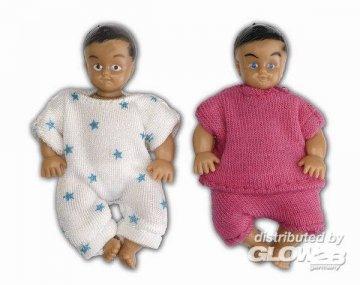 Smaland: 2 Babies · LUN 60804900 ·  Lundby · 1:18
