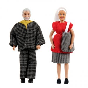Smaland: Großeltern · LUN 60805300 ·  Lundby