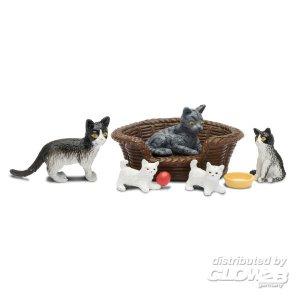 Lundby: Katzenfamilie · LUN 60805700 ·  Lundby