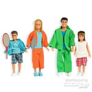 Lundby: Familie in Sportkleidung · LUN 60905600 ·  Lundby