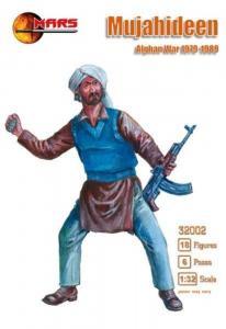 Mujahideen, Afghan War 1979-1989 · MRF 32002 ·  Mars Figures · 1:32