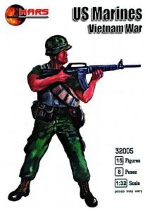 US Marines, Vietnam War · MRF 32005 ·  Mars Figures · 1:32