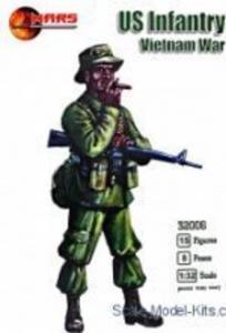 US Infantry, Vietnam War · MRF 32006 ·  Mars Figures · 1:32
