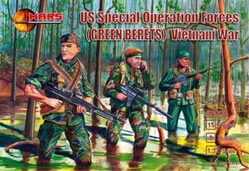US special operation forces (Green Berets) · MRF 32008 ·  Mars Figures · 1:32