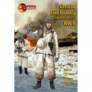 German Elite Infantry (winter dress) WWI · MRF 32014 ·  Mars Figures · 1:32