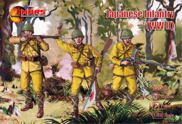 WWII Japanese Infantry · MRF 32015 ·  Mars Figures · 1:32