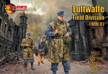 WWII Luftwaffe field division · MRF 32017 ·  Mars Figures · 1:32