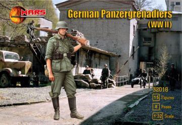 German panzergrenadiers WWII · MRF 32018 ·  Mars Figures · 1:32