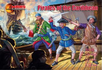 Pirates of the Carribbean · MRF 32020 ·  Mars Figures · 1:32