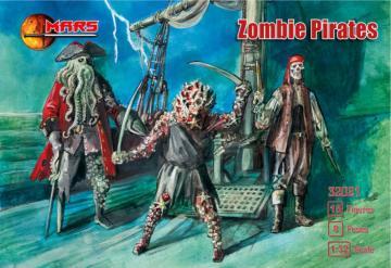 Zombie Pirates · MRF 32021 ·  Mars Figures · 1:32
