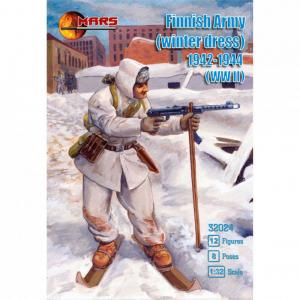 Finnish Army (winter dress), 1942-1944 · MRF 32024 ·  Mars Figures · 1:32
