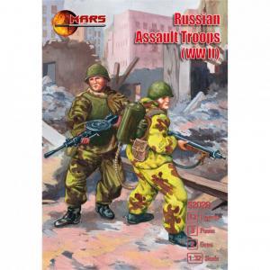 WWII Russian Assault Troops · MRF 32026 ·  Mars Figures · 1:32
