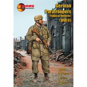 WWII German Paratroopers (Tropical Uniform) · MRF 32029 ·  Mars Figures · 1:32
