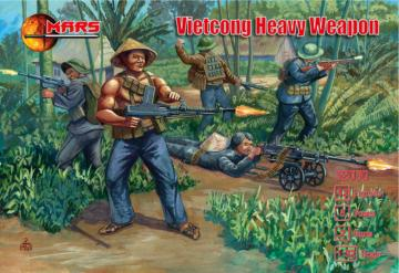 Vietcong Heavy Weapon · MRF 32030 ·  Mars Figures · 1:32