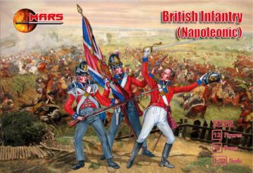 British infantry (Napoleonic) · MRF 32032 ·  Mars Figures · 1:32